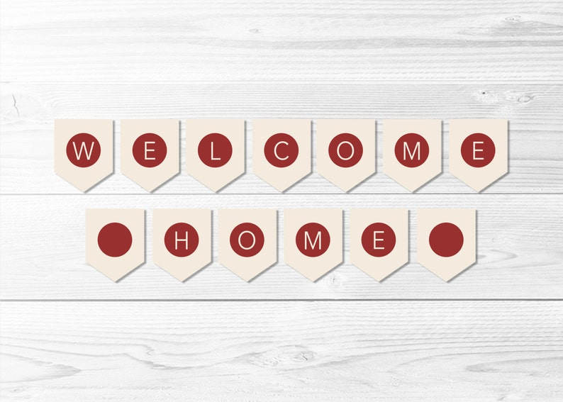 picture regarding Japan Flag Printable referred to as Welcome House Japan Flag Banner -- Jap Flag Banner, Flag of Japan, Homecoming Social gathering, LDS Missionary, Printable, Fast Obtain