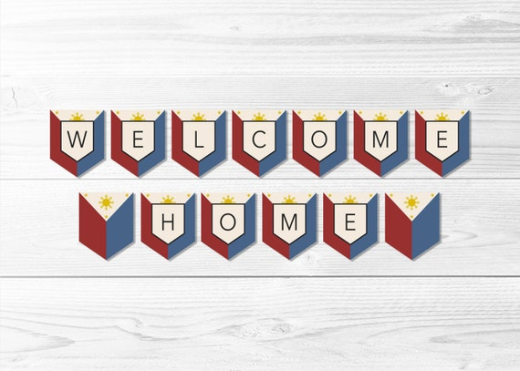 welcome home banner printable