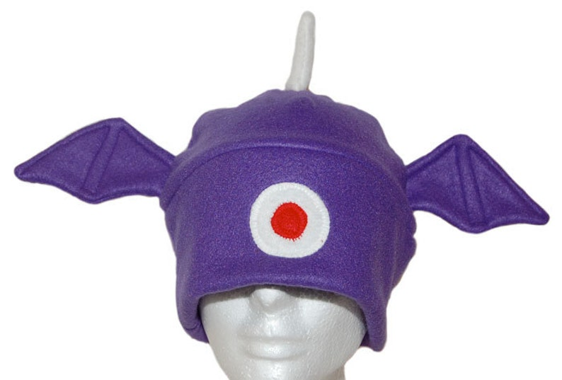 One-eyed one-horned flying purple people eating monster image 0