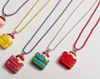 Sale! cake Necklace