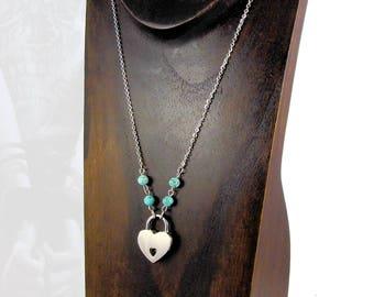 Turquoise, Locking Day Collar