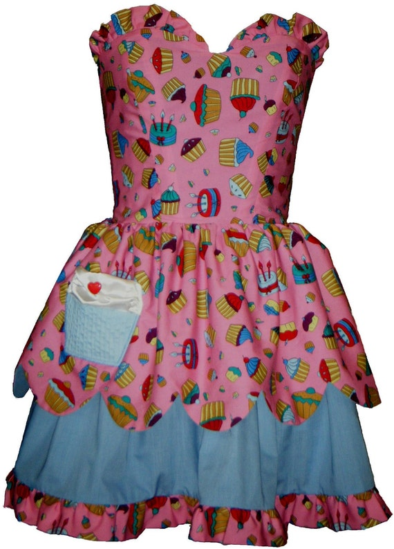 lolita strapless SALE candy bodice sweetheart pink Last dress cupcake one dress TT0xI1g