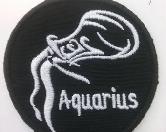 b25d933be2b Aquarius Zodiac Patch
