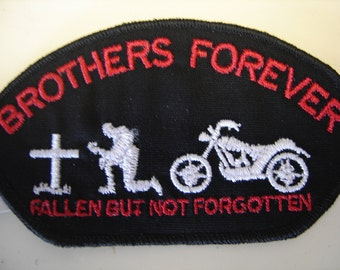 Brothers Forever Bike Patch