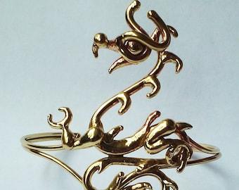 Bronze Dragon  Bracelet