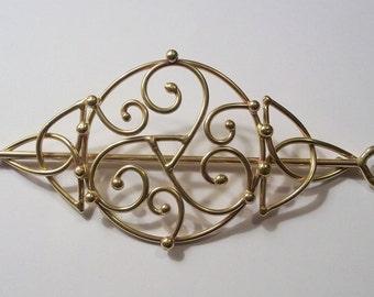 Bronze Triskelion Comb for Marie