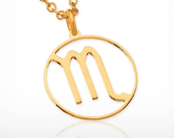 Scorpio necklace scorpio zodiac Dainty gold necklace scorpio zodiac necklace zodiac constellation necklace , zodiac jewelry, zodiac sign