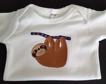 2e1a38f0f Sloth baby clothes