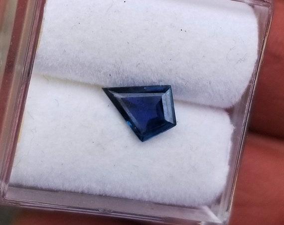 Montana Blue Sapphire 7.9x6MM