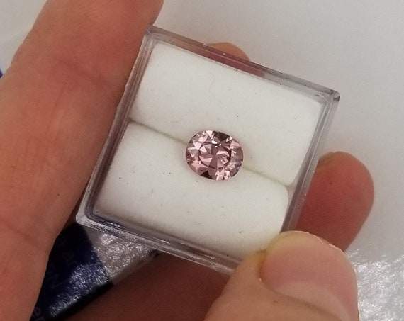 Padparadscha Color Spinel 0.83cts Oval