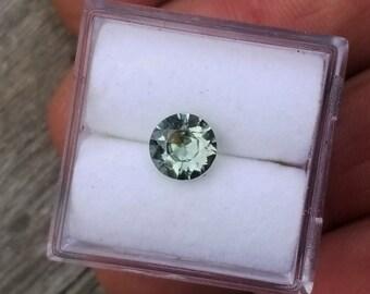 Ceylon Mint Blue Green Sapphire 5 mm Round