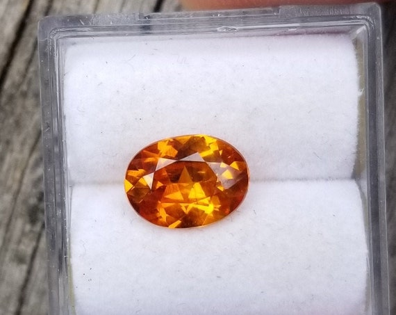 Precision Cut Sapphire 9x6.7 MM Oval Shape