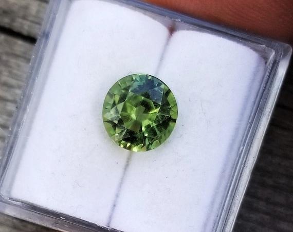 Unique Large 7.5MM Round Sapphire Collector Piece