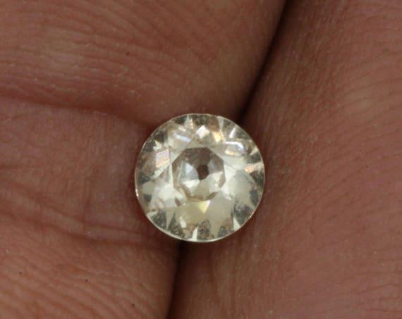 Champagne Yellow Sapphire 6.4 MM Round