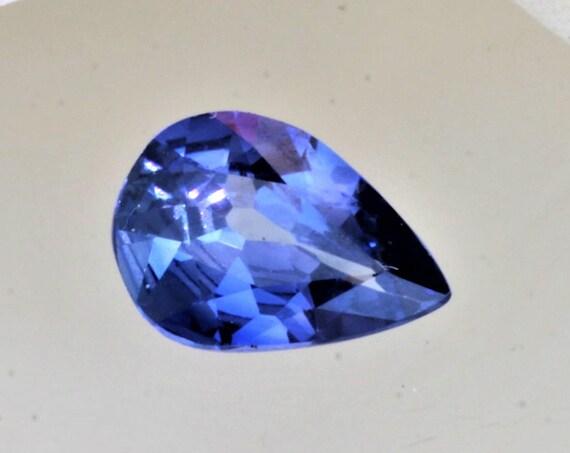 Pear Shape Blue Sapphire 1.52cts