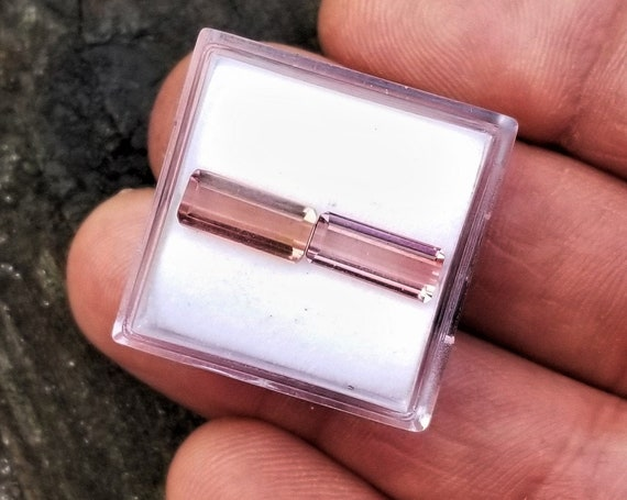 Natural Pink Tourmaline Pair 10x4.3 MM for Earrings