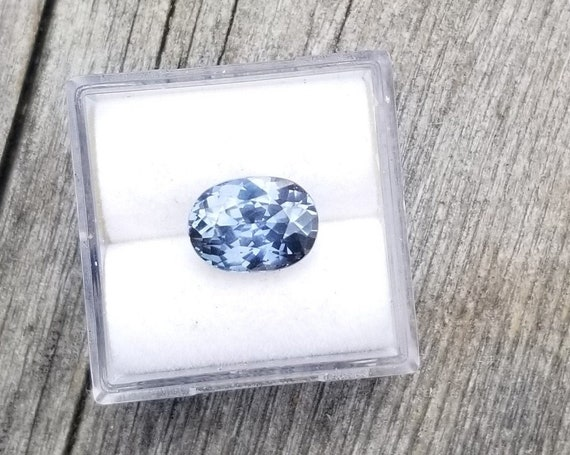 Color Change Violet Sapphire 3.19 Cts Oval Not Heat Treated