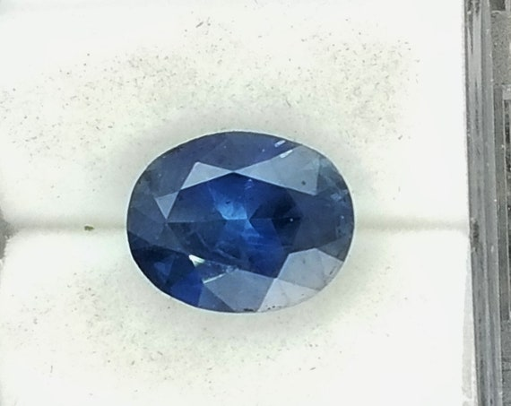 ON HOLD Loose Blue Sapphire Large Size 10x8 MM