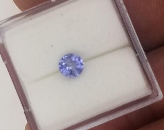 Round Lavender Blue Sapphire 4.6 mm Round