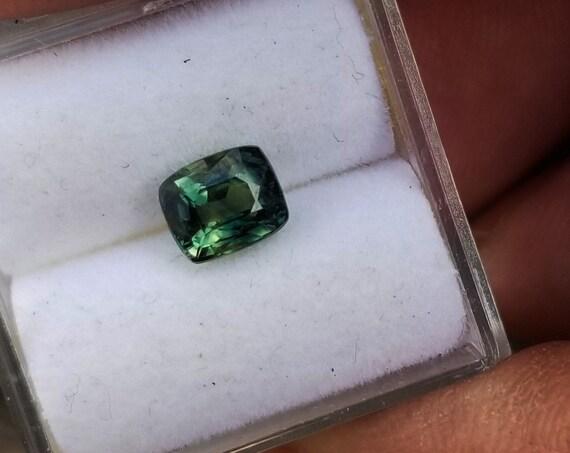 Cushion Green Sapphire 1.09 Carats