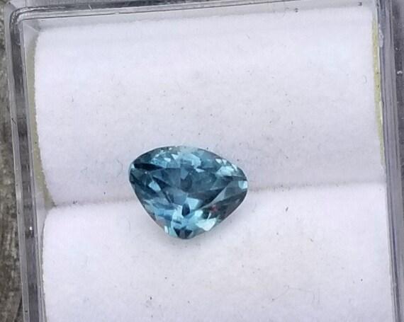 Montana Sapphire 7.4x5.7 MM Triangle