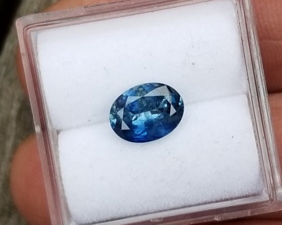 Natural Montana Blue Sapphire 1.40 Cts Oval