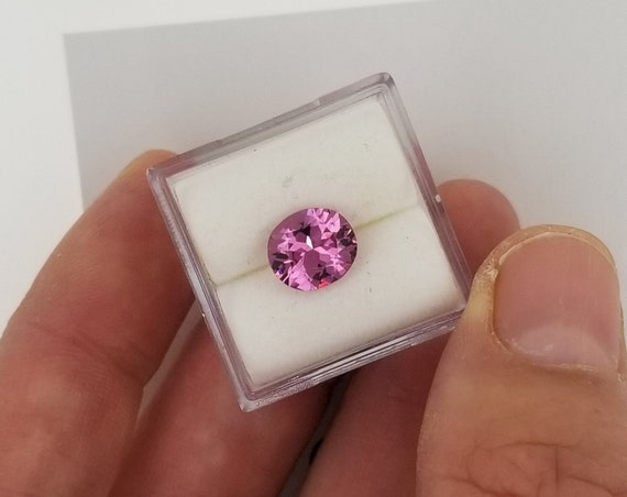 Purple Spinel 1.95cts Precision Cut Gemstone