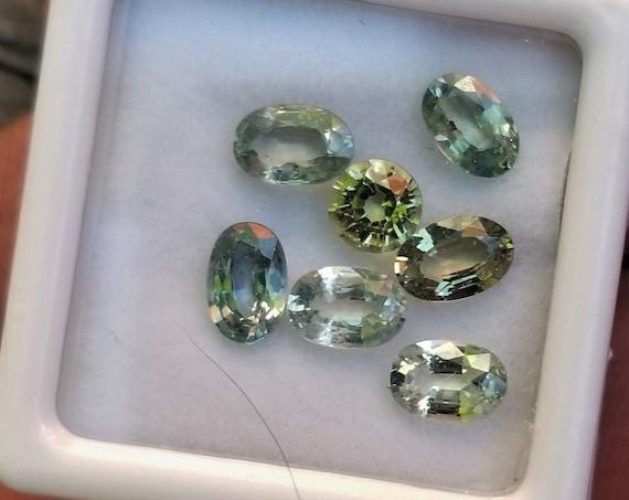 Pastel Mint Sapphire Parcel 3.92 Cts