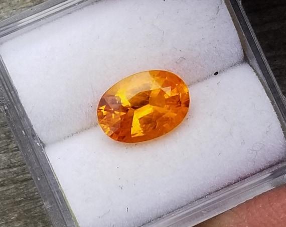 Unique Ceylon Sapphire 8.9x6.3 MM Oval Shape