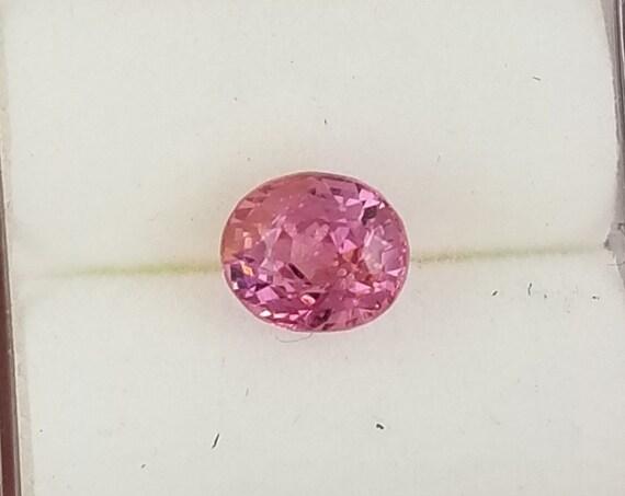 Ceylon Oval Shape Pink Spinel 1.25 ct Fine Gemstone