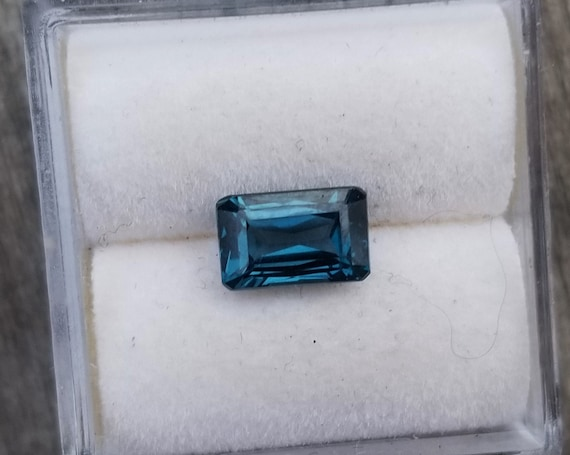 Ceylon Blue Spinel 7.3x4.5 MM Emerald Cut