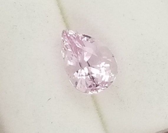 Natural Pink Sapphire 0.94cts Pear Shape