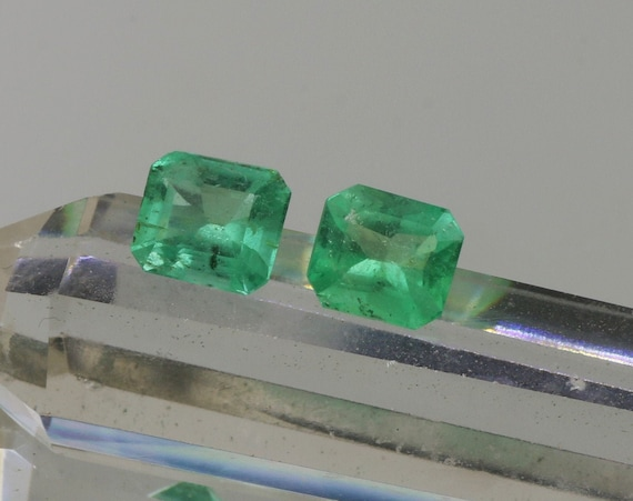 Natural Emeralds 2.12cts Total Weight