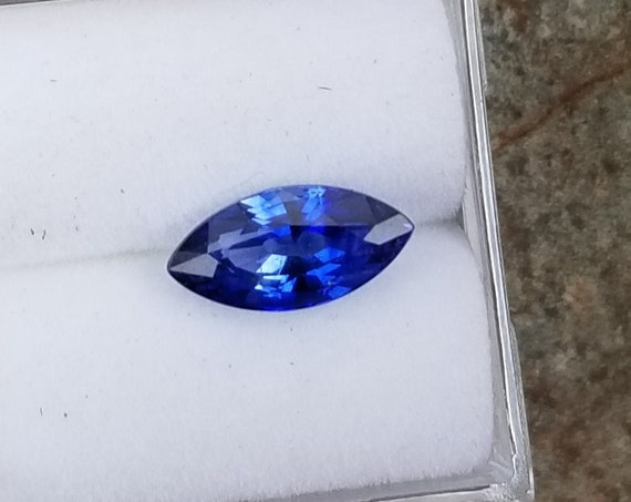 Natural Blue Sapphire 10x5mm Marquise
