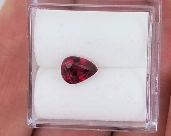 Pear Shape 1ct Ruby