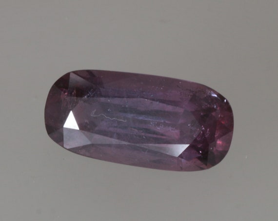 Purple Sapphire 16.40cts Antique Cushion