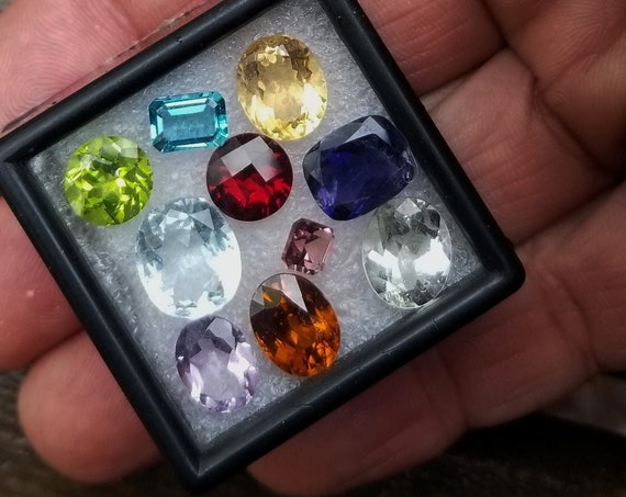 Natural Gemstone Parcel 33 Cts for Jewellery Making