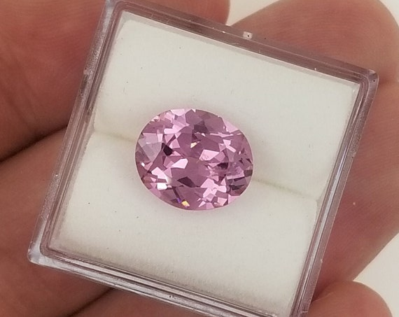 Rose Pink Spinel 10.8 x 8.7mm Oval