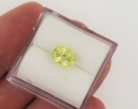 Natural Chrysoberyl 1.60ct Oval