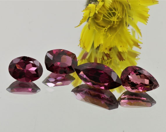 Rhodolite Garnet Parcel 7cts Total Weight