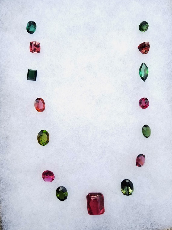 Tourmaline Parcel Total Weight 74.86 Cts for Jewellery Design