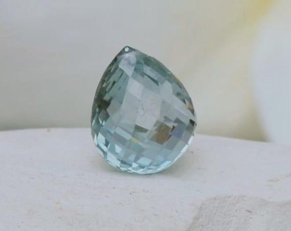 Montana Blue Sapphire Briolette 6.11cts