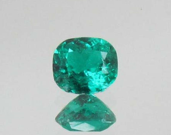Colombian Emerald 1.62cts Cushion Cut