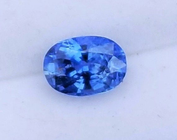 Blue Sapphire 7x5 MM Oval Ethical Gemstone