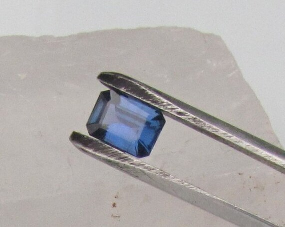 Blue Sapphire Emerald Cut 1.17cts