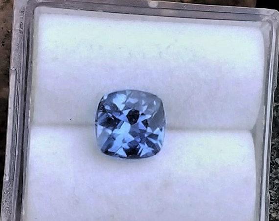 Cushion Ceylon Blue Sapphire Natural Gemstone