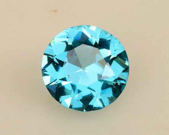 Blue Topaz 10.88cts Round November Birthstone