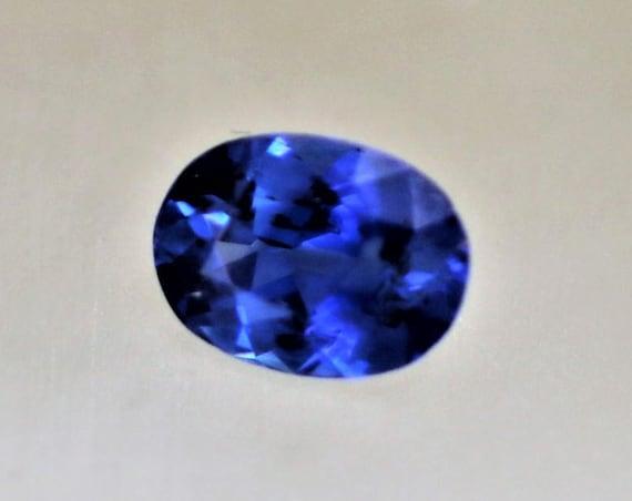Kashmir Color Blue Sapphire 0.75cts