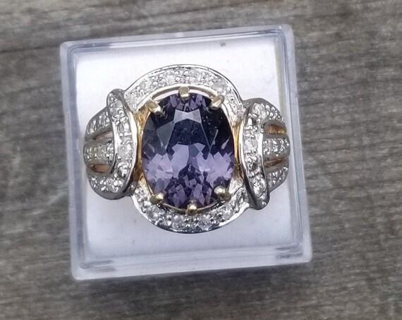 Natural Ceylon Color Change Sapphire 3.88 Carats