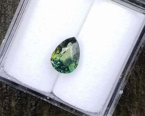 Unique Color Sapphire 1.14 Ct Tear Drop